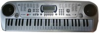 Scrazy Smart 5407 Musical Piano 54 Key Electronic Keyboard (Silver, Black)