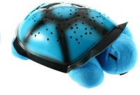 Shop & Shoppee Turtle Night Light Star Constellation LED Child Sleeping Projector With Lights And Music (Blue)