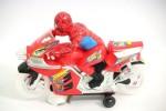 Alarafaat Musical Instruments & Toys Alarafaat Kids Spider Man Motorcycle toy