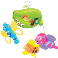 Mitashi Skykids Fun Animal Musical Mobile (Multicolor)