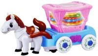 Babeezworld MUSICAL HORSE Toy (Multicolor)