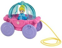 Fisher-Price Disney Baby Cinderella Musical Carriage Pull Toy (Multicolor)
