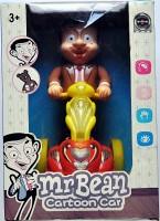 Ruppiee Shoppiee Mr.Bean Cartoon Car (Multicolor)