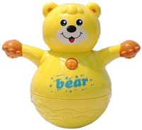Rvold Musical Roly Poly Bear Toy (Yellow)