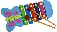 Shopat7 Cute Cartoon Flying Butterfly Xylophone (Multicolor)