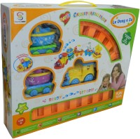 Giftsgannet Train Set With Light And Music (Multicolor)