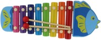 Tootpado Fish Style Colourfull & Musical Wooden Animal Xylophone Toy For Kids (Age: 3+) (Multicolor)