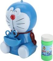 Toysjungle Doraemon Bubble Toy With Bump & Go (Blue, White)