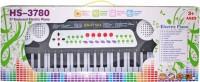 Venus-Planet Of Toys 37 Keys Musical Keyboard W External Microphone For Kids (Black)