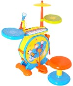 Fantasy India Musical Instruments & Toys Fantasy India Rock Drum Set
