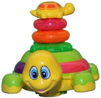Prro Stacking Lovely Tortoise Baby Musical Toy (Multicolor)