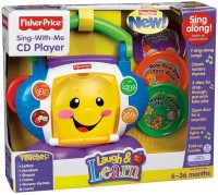 Fisher-Price Laugh And Learn Sing With-me Cd Player