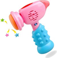 Baby World Non Toxic Musical Hammer Toy (Multicolor)