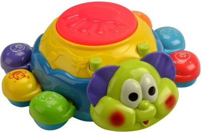 Mee Mee Colourful Bubbly Beetle-musical Toy