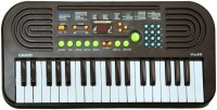 Prro 37 Keys Electronic Piano Or Keyboard With Mike & Power Adopter (Grey)
