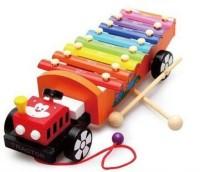 Shopaholic Tractor Shape Xylophone (Multicolor)