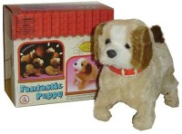 Shop & Shoppee Jumping Musical Puppy (Multicolor)