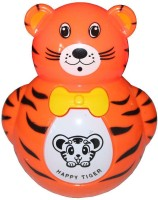 Turban Toys Baby Tumbler Music Animal Roly-Poly Toy (Multicolor)
