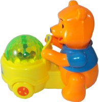 Popular Lucky Bear With Light Sound For Kids (Multicolor)