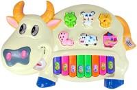 A M ENTERPRISES Multicolor Cow Piano For Kids (Multicolor)