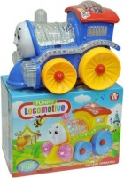 Rahul Toys Locomotive Engine With Light And Sound (Multicolor)