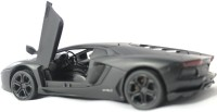 Littlegrin Lamborghini Die Cast Metal Model Car 1 32 Scale With Head Lights Gift Toy (Black) (Black)