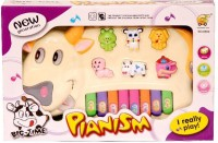 Homeshopeez Toy Musical Cow Piano (Multicolor)