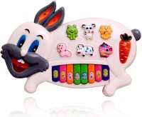 Baby Care Chuangfa Toys Rabbit Music Piano (Multicolor)