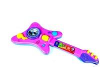 Junecca Toys Sound & Light Music Guitar Toy (Multicolor)
