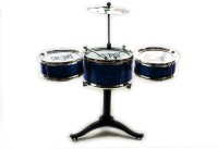 KBnBS Mini Jazz Drum Set For Kids (Blue)