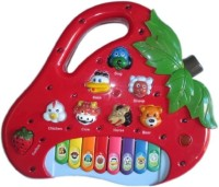 ToyTree Strawberry Shaped Animals Sound Piano For Kids (Red)