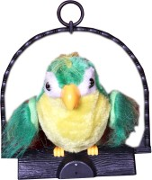 A R Enterprises Talking Parrot (Yellow, Green)