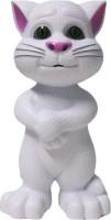 Tickles Intelligent Funny Talking Tom Cat (White)