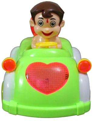 Zaprap Bheem Car Musical Toy (Green)