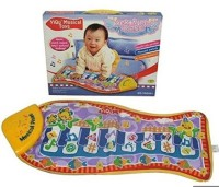Shopaholic Baby's Musical Piano Touch Mat - YQ2921 (Multicolor)