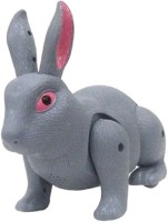Zaprap Grey Plastic Rabbit Musical Toy For Kids (Grey)