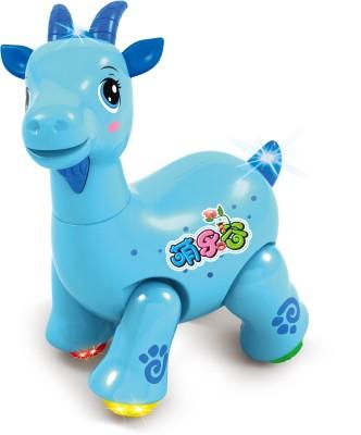 Mitashi Mitashi SkyKidz Dancing Pet Musical Toy - Goat (Blue)