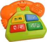 MeeMee Musical Instruments & Toys MeeMee Friendly Telephone Part of Four Musical Playthings.