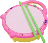 Rahul Toys Musical Drum Set For Kids (Multicolor)