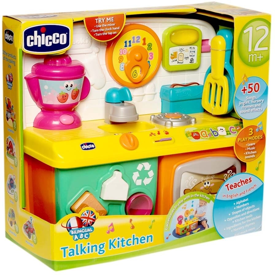Kitchen Set Toys Online India: Talking Kitchen . Shop For Chicco