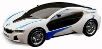 Shop & Shoppee 3D LED Light & Musical Car (White)