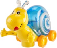 Mitashi Luminous Snail (Yellow, Blue)