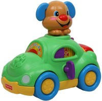 Fisher Price Laugh And Learn Puppy's Learning Car (Multicolor)