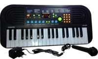 Jaibros Canto 37-Keys Electronic Keyboard Musical Piano HL-60 (Black)