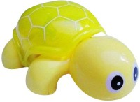 New Pinch Mini Tortoise Toy With Flash Light (Multicolor)