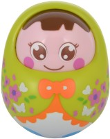 WonderKart Baby Tumbler Doll - Green (Green)
