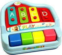 AdraxX Mini Xylophone Toy With Melodies For Toddlers (Multicolor)