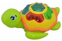 Emotionlin Childhood Turtle Puzzle Early Music Toy (Multicolor)