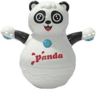 Rvold Musical Roly Poly Panda Toy (Multicolor)