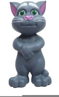 DINOIMPEX Ntelligent Talking Tom Toy With Touch Sensitive And Wonderful Voice (Songs, Stories, Repeats Sentences) (Grey)